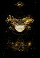 The Golden Mask by southtreez