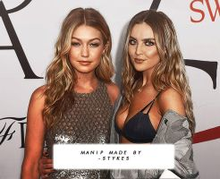 Manip // Gigi Hadid and Perrie Edward by JIMMIXSTYKES