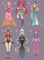 $35 Adopt Clearance (CLOSED) by LunaOfWater