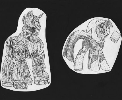 Ponified MvC poses doodle 22 by jmkplover