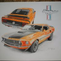 Ford Mustang fastback 69 by Mipo-Design