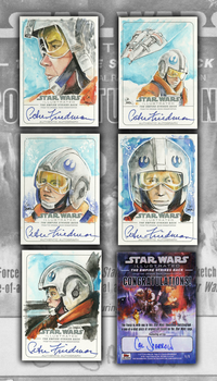Topps Dak Sketchcards by CalSparrow
