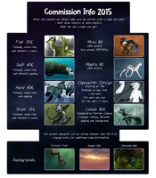 Mikaley - Commission Info 2015 by Mikaley