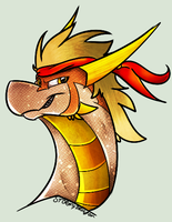 Dragonfied Braydon|AT by Stormy-The-Dragon