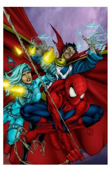 Avenging Spider Man Cover by Ta2dsoul