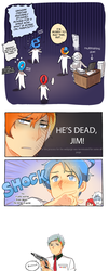 He's dead, Jim! by Cioccolatodorima