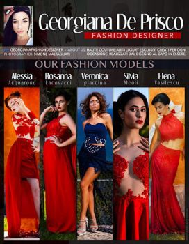 Georgiana Fashion Designer by JERRYARTZDESIGN