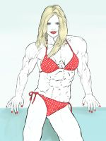 Kate Upton as a FBB by dr-robert420