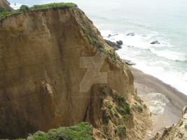 California Cliff Left Side view by seancfinnigan