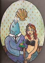 Mrs. and Mr. Fish by CarrieExMachina