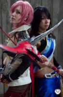 Final Fantasy XIII: Heroines by Ai-rika