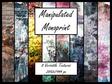 Manipulated Monoprints 2 by pendlestock