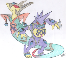 x2 Team- Serperior''Toxicroak
