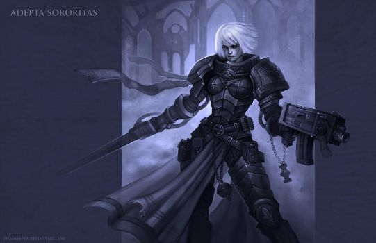 Adepta Sororitas by FirstKeeper