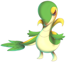 Snivy from Pokemon Black and White