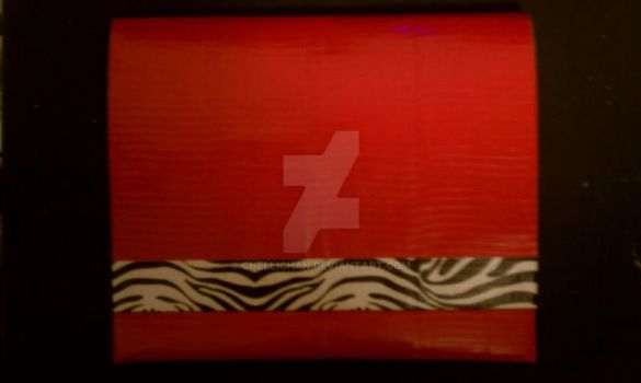 Duct Tape Clutch 4 by ChelliChan