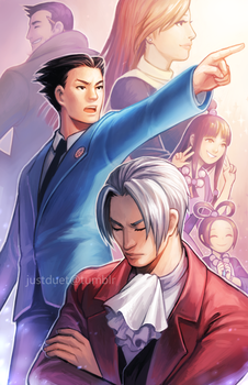 Ace Attorney by justduet