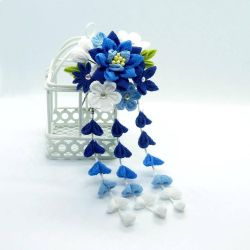 Blue Lily by Arleen