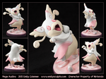 Commission : Mega Audino by emilySculpts
