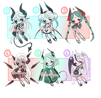 ADOPTS: Mixed Batch [3/6 OPEN] by Mewpyonadopts