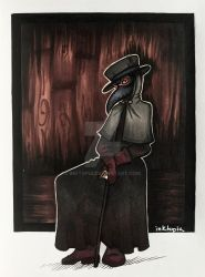 Solitary by inktopia
