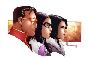 Division 401 epic profiles. by Eddy-Swan-Colors