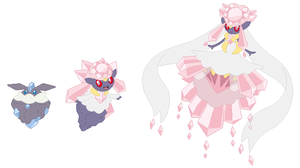Carbink, Diancie and Mega Diancie Base