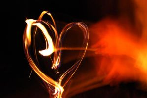heart on fire by supportxmyxlife