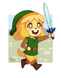 Isabelle the Hero by daisyein