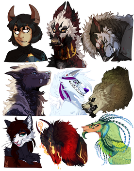 Shaded Busts Dump by LiLaiRa