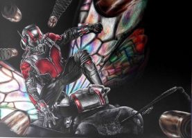 Ant-Man (Inverted) by StarKite1