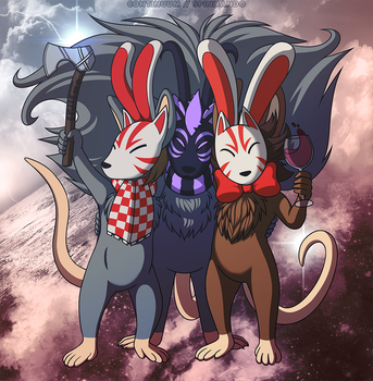 Masked Meece by spinnando