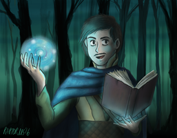 Young Khadgar by Jess2007