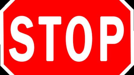 Animated Stop Sign by Lashstar