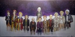 The 12 Doctors by hatoola13