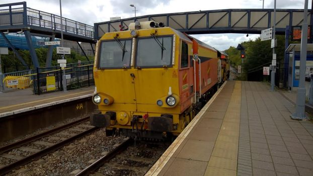 Colas Railfreight Tamper by thinskin45