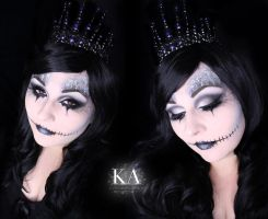 Queen of the Dead Halloween Makeup w/ Tutorial by KatieAlves