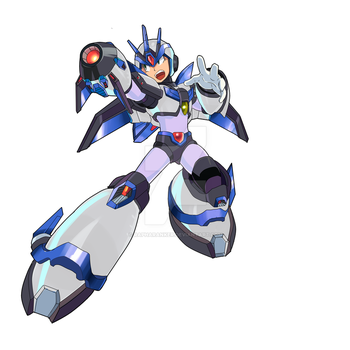 new ultimate armor megaman x by rapharanker