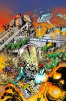 Mars Attacks SDCC by KaijuSamurai
