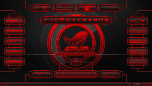 Evolucion(Series) for Rainmeter - Red Edition by Agelyk