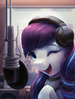 Recording Studio by VanillaGhosties