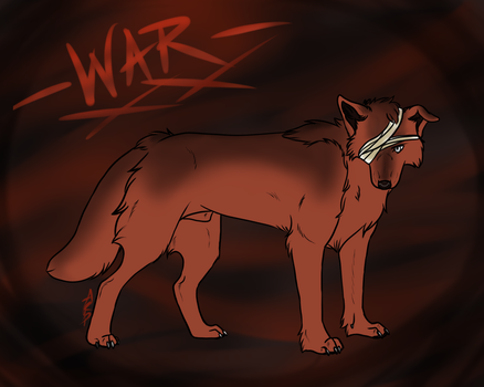 Blood Stained Pathways - War by littlezombiesol
