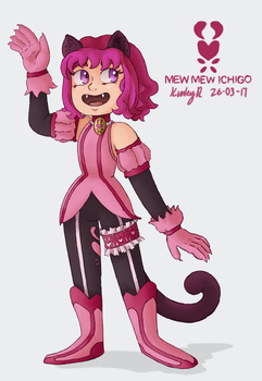 Tokyo Mew Mew Redesign Project: Ichigo by AbyssinChaos