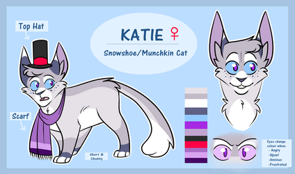 Katie - January 2018 Reference Sheet by KatieR66
