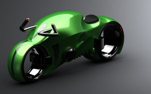 concept electric motorbike gre by KingEagle