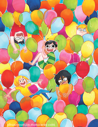 Balloons by montiray