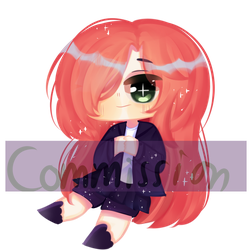 commission OuO !! by Cam-babyorange