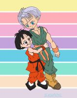 Trunks Pan Innocent Love by Alexeigirl