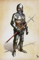 Teutonic Knight by CG-Zander