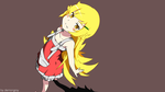 Shinobu Oshino Wallpaper Vector Art by demongray